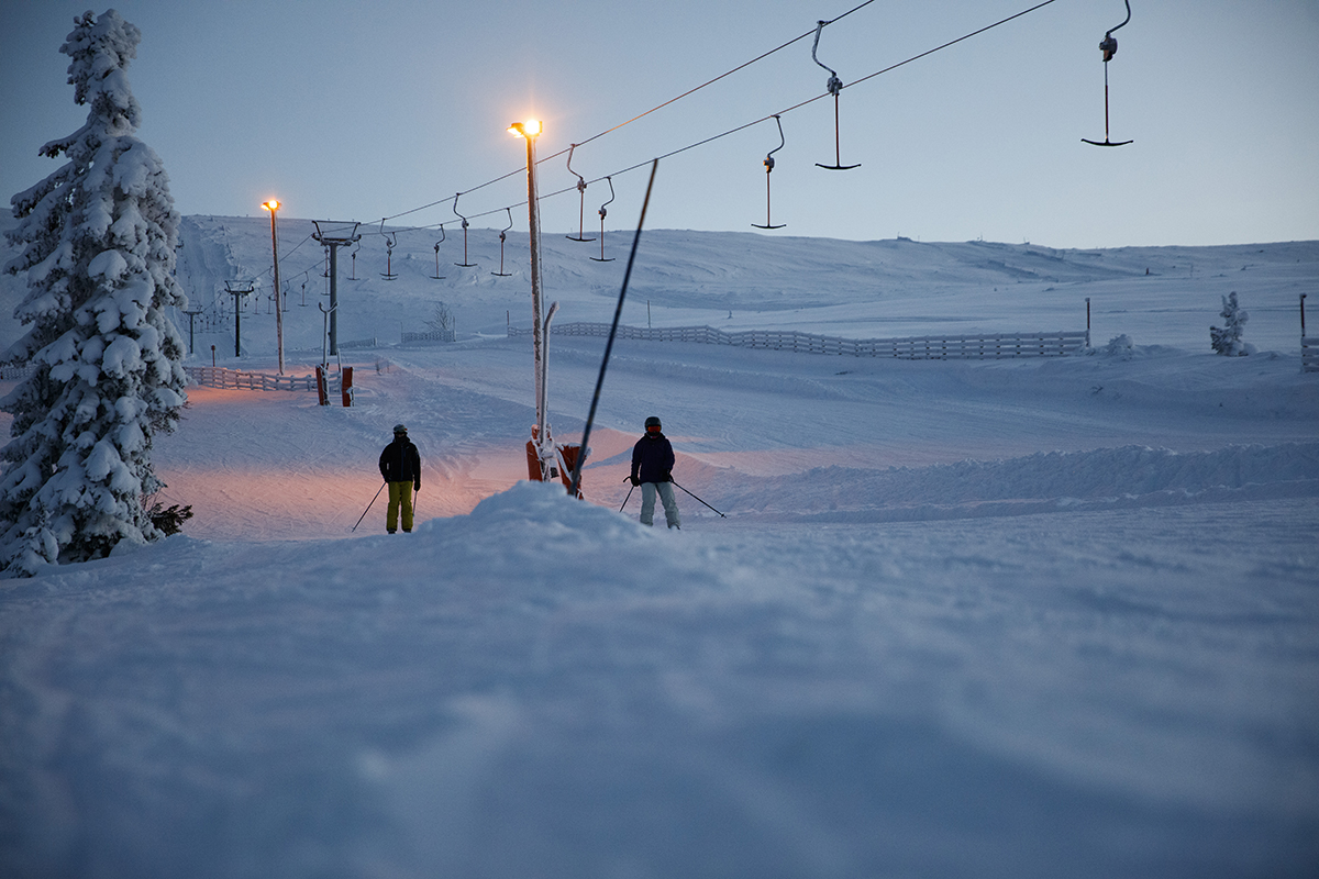 Skibakken i Trysil med NOR-WAY